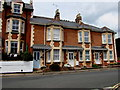 SY1287 : Colaton Terrace, Cotmaton Road, Sidmouth by Jaggery