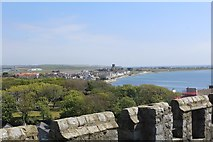 SC2667 : View from Castle Rushen toward King William's College by Richard Hoare