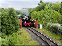 SD8010 : Witherslack Hall approaching Bury by David Dixon