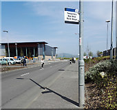 NS3174 : Temporary bus stop both ways by Thomas Nugent