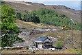 NG9437 : Strathan power house construction, Attadale by Jim Barton