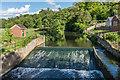TQ1850 : Castle Mill Weir by Ian Capper