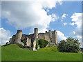 SK5198 : Conisbrough Castle by Steve  Fareham