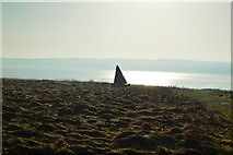 TA1281 : Obelisk, Filey Country Park by N Chadwick