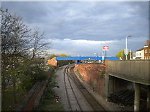NZ4518 : Railway line, Thornaby station by Richard Vince