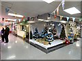 SJ9494 : Indoor Market Christmas display by Gerald England