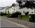 ST2894 : Henllys Way telecoms cabinets, St Dials, Cwmbran by Jaggery