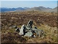 NS2787 : A summit cairn by Lairich Rig