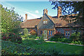 TL2100 : Former almshouses, Ridge, Hertfordshire by Julian Osley