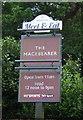 TL8562 : Sign for the Macebearer public house, Bury St Edmunds by JThomas