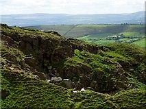 SD7738 : Disused quarry by Philip Platt