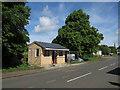 TL4765 : New bus stop, Landbeach by Hugh Venables