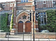 SP5074 : The entrance to Rugby School building by David Howard