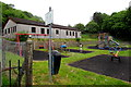 SO1603 : Village community centre and children's playground, Hollybush by Jaggery