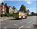 SO8305 : Fire engine in Cainscross, Stroud by Jaggery
