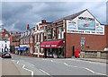 SP7387 : Market Harborough: Monk's Stores by John Sutton