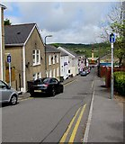 SO1408 : Market Street towards Tredegar town centre by Jaggery