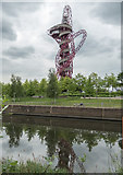TQ3784 : The Orbit, Olympic Park, Stratford by Christine Matthews