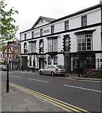 SO1408 : Castle Hotel (The Castle) in Tredegar town centre by Jaggery