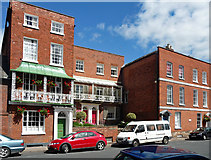 SO5139 : 9-13 Castle Street, Hereford by Stephen Richards