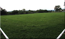 ST3090 : Off-season view of a football pitch, Malpas, Newport by Jaggery