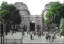 TQ2780 : Marble Arch by Anthony O'Neil