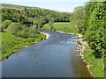 NT4335 : The River Tweed at Ashiestiel by M J Richardson