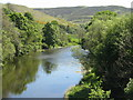 NT4335 : The River Tweed near Caddonfoot by M J Richardson