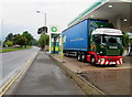 ST3091 : Fagan & Whalley lorry in Malpas, Newport by Jaggery