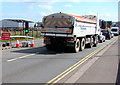 ST3038 : Hanson highway maintenance lorry, Western Way, Bridgwater by Jaggery