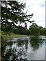 TQ1263 : Claremont Lake by Graham Hogg