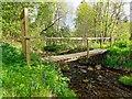 NH6755 : Footbridge over the Rosehaugh Burn by valenta