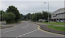 SS9079 : Angel Street towards Bridgend town centre by Jaggery