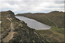 NG5739 : Loch na Meilich by Anne Burgess