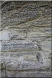 NG5113 : Elgol Sandstone by Anne Burgess