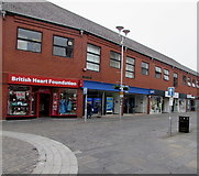SS9079 : British Heart Foundation shop in Bridgend town centre by Jaggery