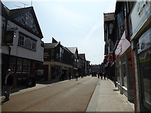 SJ4066 : Part of Frodsham Street in Chester city centre by Jeremy Bolwell
