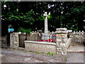 SS0697 : Manorbier War Memorial by Jaggery