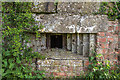 SJ5957 : WWII Cheshire, RAF Calveley, near Nantwich - pillbox (2) by Mike Searle
