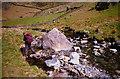 SH6252 : The Afon Cwm Llan at Plascwmllan. by Jeff Buck