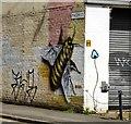 SJ8498 : The Mason Street Bee by Gerald England