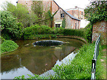 SY0995 : Ottery St Mary Town Mill and Tumbling Weir by Chris Gunns
