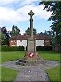 SP1671 : Lapworth Cenotaph by Gordon Griffiths
