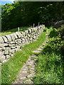 SD9928 : Wadsworth Bridleway 46, Midge Hole Lane by Humphrey Bolton