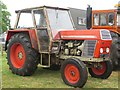 NZ0461 : Tractor on display, Northumberland County Show by Graham Robson