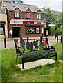 SO1409 : War Memorial Bench, Tredegar by Jaggery