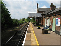 TG3608 : Lingwood Railway Station by G Laird