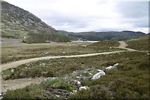 NH7301 : New road, Pitmain by Richard Webb