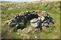SX6381 : Beehive hut by Lade Hill Brook by Derek Harper