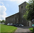 SO1409 : North side of St George's Church, Tredegar by Jaggery